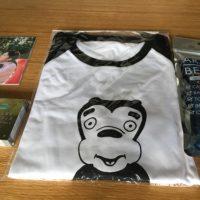 嵐の展覧会9月の追加グッズ♪ラゲッジマークとラグランTシャツとふしぎなパラパラブック